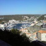 Il porto di Bonifacio